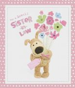 Boofle Sister in Law Birthday Card